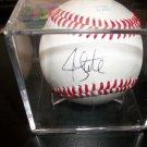 Jon Lester autographed baseball