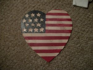 9/11 AMERICAN HEART FLAG TRIBUTE