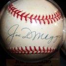 Joe Dimaggio autographed Baseball