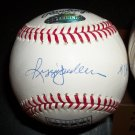 Reggie Jackson autographed rare retirement baseball