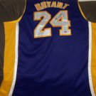 Kobe Bryant autographed authentic Lakers Purple Away jersey