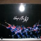 "Wayne Gretzky autographed LE ""Slapshot"" 16 by 20 photo"