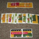 1991 Willie Stargell Donruss Diamond King Puzzle-Complete Set