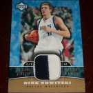 Dirk Nowitzki 2004 Upper Deck Limited Edition Game-Used Jersey Patch trading card