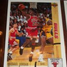 Michael Jordan 91-92 Upper Deck basketball card