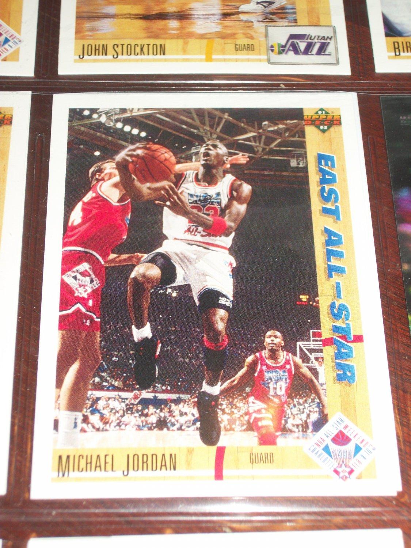 Michael Jordan 91-92 Upper Deck- East All-Stars basketball card