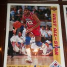 Magic Johnson 91-92 Upper Deck basketball card- West All-Stars
