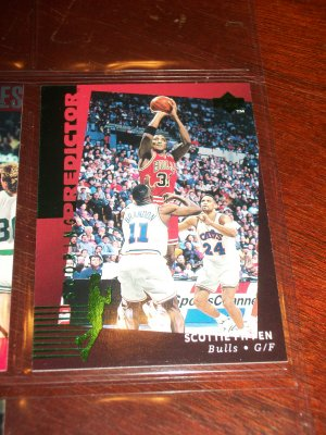 Scottie Pippen 94-95 Upper Deck Rare Limited Edition- Scoring Predictor basketball card