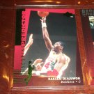 Hakeem Olajuwon 94-95 Upper Deck basketball card- RARE Scoring Predictor limited edition insert