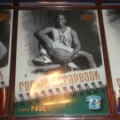 Chris Paul 05-06 upper Deck basketball card- Rookie Scrapbook card