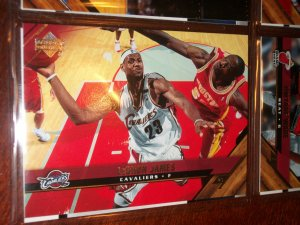 Lebron james 05-06 Upper Deck basketball card