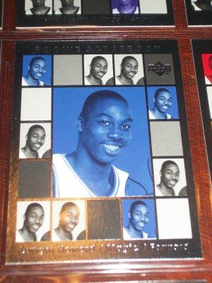Dwight Howard 04-05 Upper Deck basketball card- Rookie Scrapbook