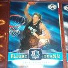 Dirk Nowitzki 04-05 upper deck basketball card- Flight Team Insert