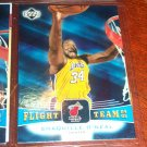 Shaquille O'Neal 04-05 upper deck basketball card- Flight Team Insert