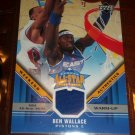 Ben Wallace 05-06 Upper Deck basketball card- Weekend Authentics Warm-Up