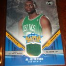 Al Jefferson 05-06 upper deck basketball card- Weekend Authentics All-Star Warm Up