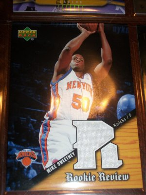 Mike Sweetney 04-05 upper deck basketball card- Rookie Review