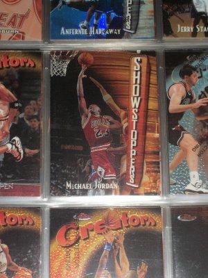 Michael Jordan 1998 Topps Finest-SHOWSTOPPERS