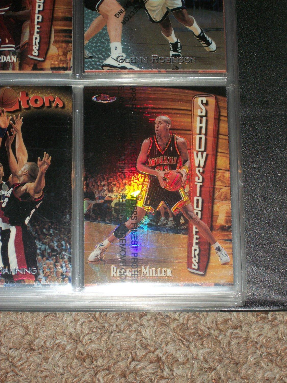 Reggie Miller 1998 Topps Finest Refractor