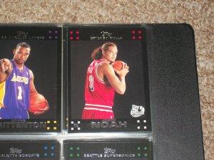Joakim Noah 2007 Topps basketball-Rookie Card