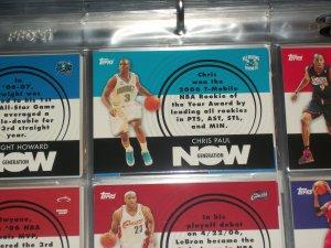 Chris Paul 2007 Topps Generation Now Basketball Insert Card