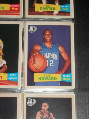 Dwight Howard 2007 Topps 50th anniversary/2nd version