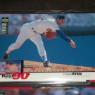Nolan Ryan 1994 Upper Deck-Best of the 90's card
