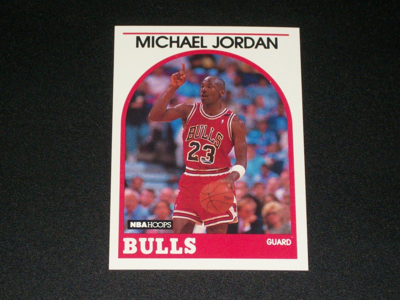 Michael Jordan 1988 NBA Hoops Basketball Card