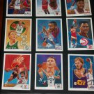 1991 Upper Deck Basketball- The Collector's Choice player portraits- Complete 26 card Set