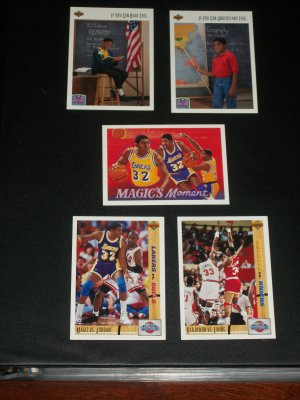 91 Upper Deck Classic Confrontations set + More