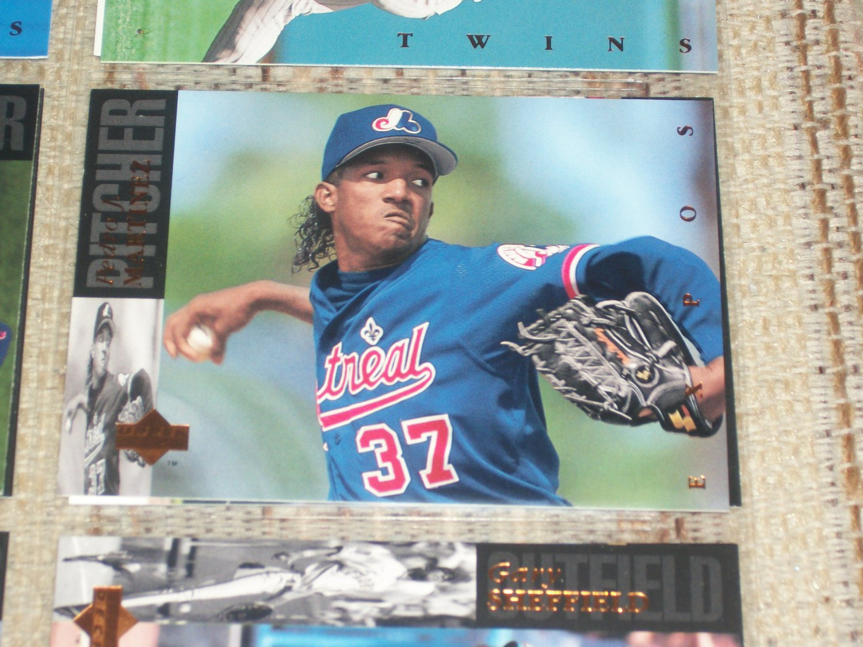 Pedro Martinez 93 Upper Deck card