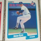 Nolan Ryan 1990 Fleer Baseball Card