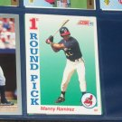 Manny Ramirez 1992 Score 1st Round Pick Rookie Card