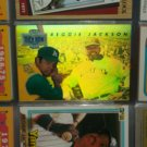 Reggie Jackson 1993 Upper Deck- Then and Now Hologram card