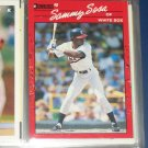 Sammy Sosa 1990 Donruss baseball card