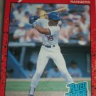Juan Gonzalez 1990 Donruss baseball card- Rookie