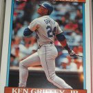 Ken Griffey Jr 1990 Topps baseball card- American League All-Star
