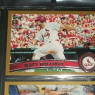 Matt Holiday 2011 Topps LE #1913/2011 card- Gold Edition