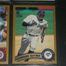 Cameron Maybin 2011 Topps LE #212/2011 card- Gold Edition