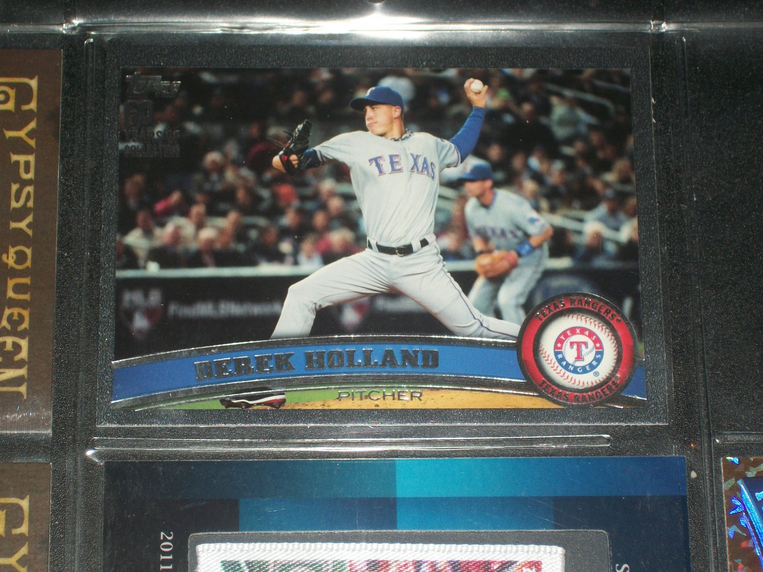 Derek Holland 2011 Topps Baseball Card-
