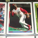 Barry Larkin 1994 Topps Baseball Card- Gold Insert