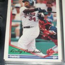 Kirby Puckett 1994 Topps Baseball- Gold Insert