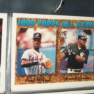 Frank Thomas/Fred McGriff 93 Topps All-Stars Baseball Card- Gold Insert