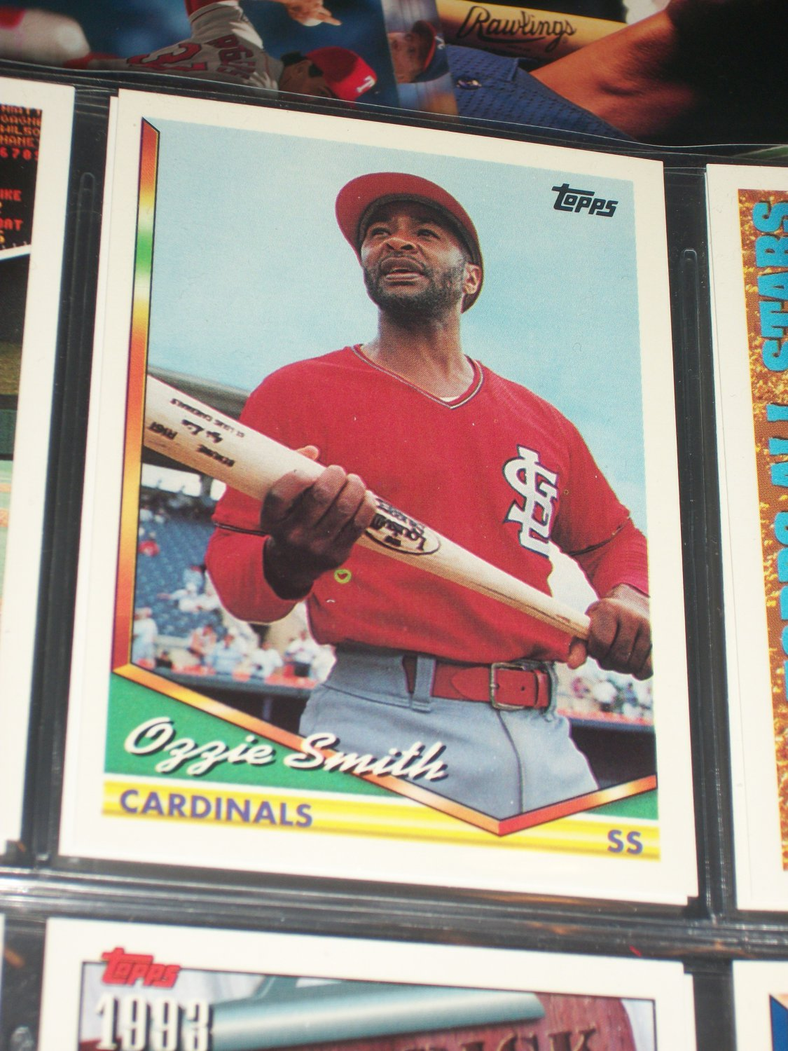 Ozzie Smith 1994 Topps Baseball Card