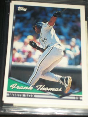 Frank Thomas 1994 Topps Baseball Card