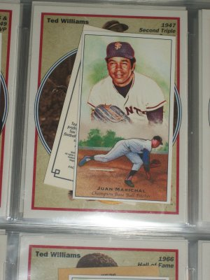 Juan Marichal 2011 Topps Champions of Games+Sports baseball card