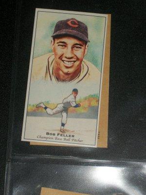 Bob Feller 2011 Topps Champions of Games+Sports insert baseball cards