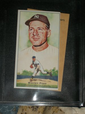 Whitey Ford 2011 Topps Champions of Games+Sports baseball cards