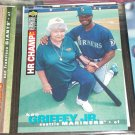Ken Griffey Jr 1995 UD Collector's Choice baseball card- A.L. Home Run Champ