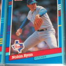 Nolan Ryan 1991 Donruss baseball card